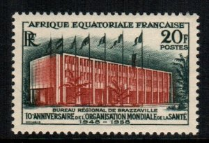 French Equatorial Africa  199   MNH cat $  1.60