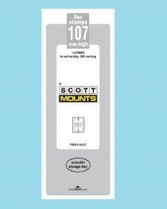 Scott Mounts Clear 107mm STRIP 265mm, (Pgk. 10)(00955C)*