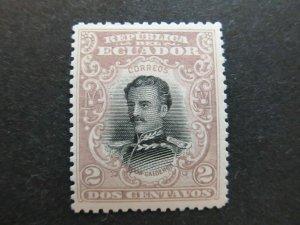 A4P46F37 Ecuador 1899 2c mnh**