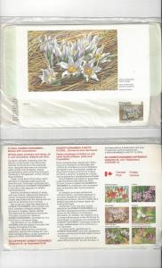 Canada Domestogrammes, Provincial Flowers, 6 Dif .08 in Original Package