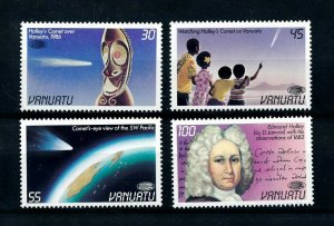 [102258] Vanuatu 1986 Space travel weltraum Halley comet  MNH