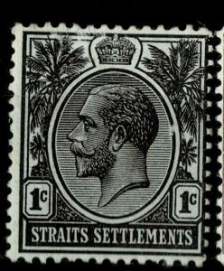 Malaya Straights Settlements 1912-23 Issue Fine Mint Hinged 1c.