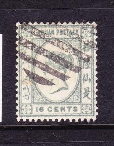 LABUAN  1892-93  16c  QV  FU    SG 46
