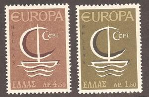 Greece 862-863 Mint VF NH