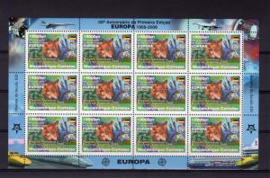 Mozambique 2006 Mi#2858A EUROPA NATIONAL PARK Mini-Sheetlet of 12 Perforated MNH