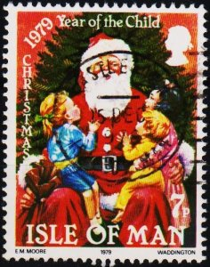Isle of Man. 1979 7p S.G.164 Fine Used