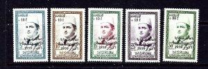 Morocco B1-5 MNH 1960 set