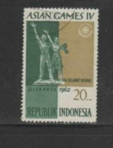 INDONESIA #573 1962 20r WELCOME MONUMENT F-VF USED b