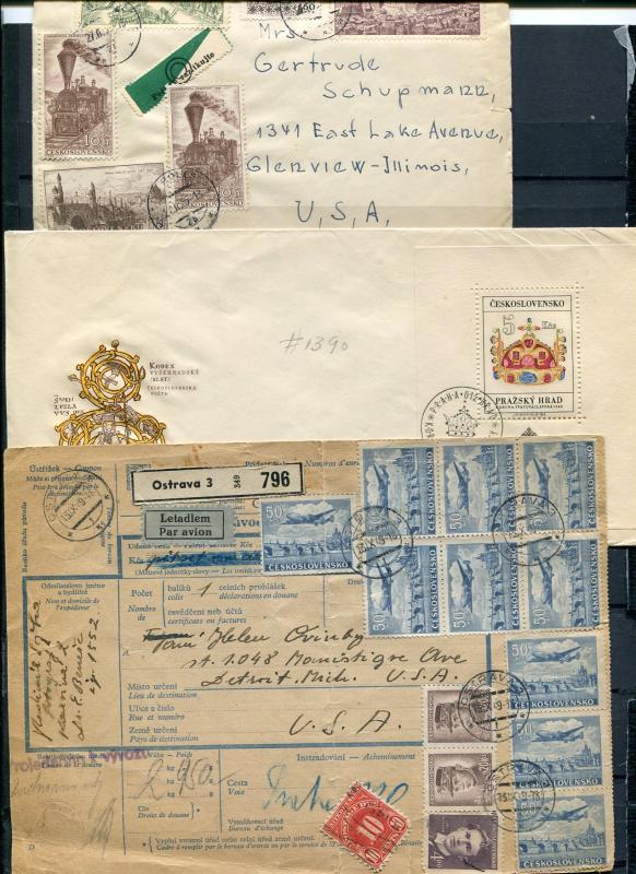 Czechoslovakia   Covers, etc   - Lakeshore Philatelics