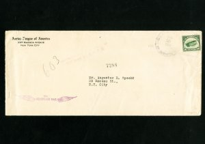 US First Flight #C2 Stamp Cover