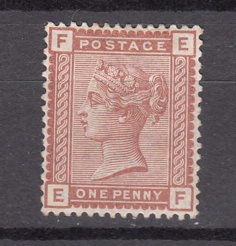 J27447 1880-1 great britain mng #79 queen
