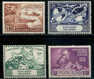 Pitcairn Islands SC# 13-6 U.P.U. Anniv set MLH