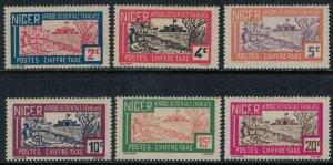 Niger #J9-14*  CV $2.10