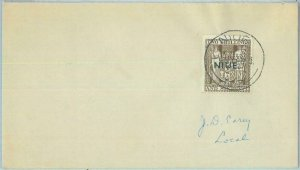 83407 - NIUE   - POSTAL HISTORY -   STAMP on COVER  1948