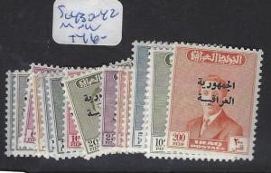 IRAQ (P0503B) SG 430-42   MNH