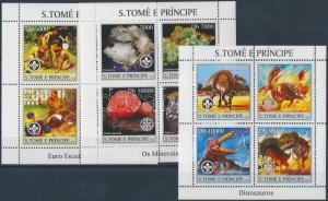 Sao Tomé e Príncipe stamp Scouting and science MNH 2004 Mi 2479-2490 WS163050