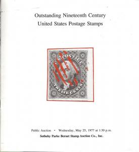 Outstanding Nineteenth Century United States Postage Stam...