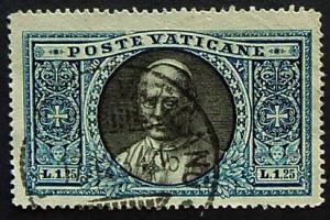 Vatican City, Scott 29, Used