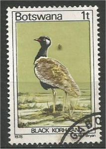 BOTSWANA, 1978, used 1t, Birds. Scott 198
