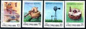 CYPRUS Sc#889-892 1996 Mills of Cyprus Complete Set OG Mint NH
