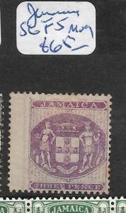 JAMAICA  (P0706B)  POSTAL FISCAL  SG F5  MOG