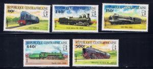 Chad 746Gh-m NH 1998 Trains set