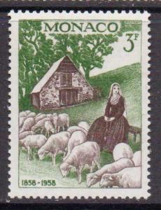Monaco   #414  MNH  (1958)