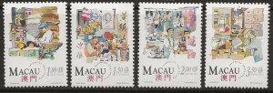 Macao  735-738 nh