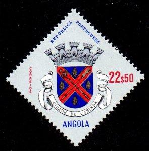 ANGOLA 484 MNH SCV $2.40 BIN $1.45 COAT OF ARMS