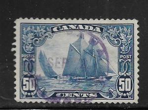 CANADA, 158, USED,  BLUENOSE