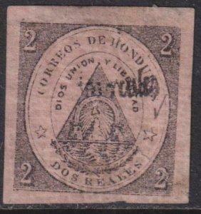 Honduras 1877 SC 14 Mint