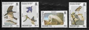 Bermuda 465-68 Birds Mint NH