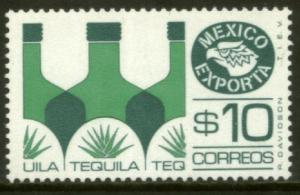 MEXICO EXPORTA 1125, $10P. TEQUILA, PAPER 1. MNH