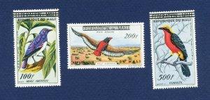 MALI - Scott C6-C8  - FVF MNH - BIRDS - 1960