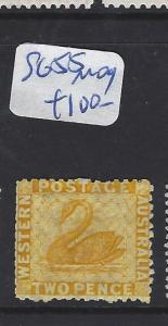 WESTERN AUSTRALIA  (P2803B)  SWAN 2D     SG 55      MOG