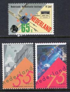 Netherlands 792-794 MNH VF