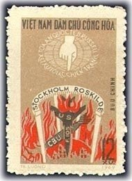 Vietnam 1969 MNH Stamps Scott 559 War Crimes Tribunal