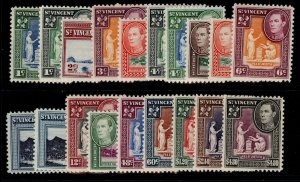 ST. VINCENT GVI SG164-177, complete set, M MINT. Cat £45.
