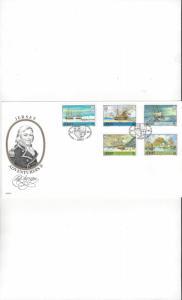 Jersey 426-30 Adventurers II FDC Jersey Post Office