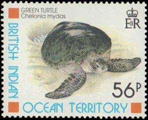 1996 British Indian Ocean Territory #181-184, Complete Set(4), Never Hinged