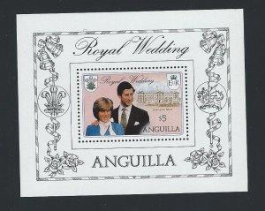 Anguilla  souvenir sheet   mnh sc  447