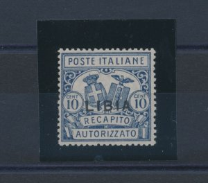 1929 Libya, Delivery Licensed N°2, Serrated 14, Centratissimo, MNH