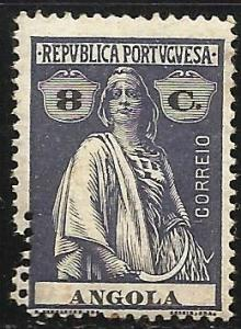 Angola 1914-1926 Scott# 134 Perforation Error Mint Hinged