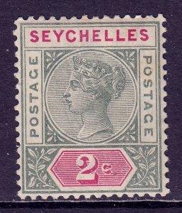 Seychelles - Scott #1 - MNH - Minor gum wrinkling, toning - SCV $3.50