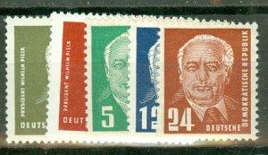 AV: Germany DDR 113-7 MNH CV $86.50