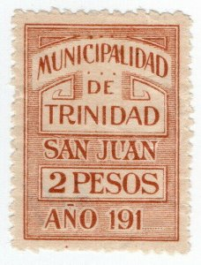 (I.B) Paraguay Revenue : Local Tax 2P (Municipalidad de Trinidad)