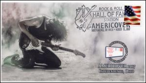17-285, 2017, Americover, Rock & Roll Hall of Fame, Event Cover, Pictorial Cance