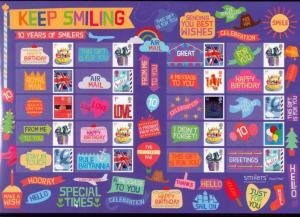 GB 2010 Keep smiling LS73 Smiler sheet Superb MNH condition.