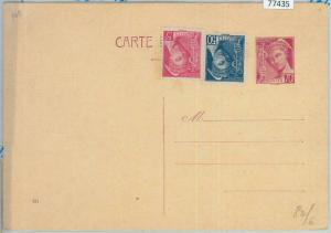 77435 - FRANCE - Postal History - STATIONERY  CARD  Storch  #  A1    date  931