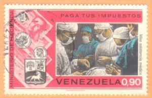 VENEZUELA SC# 1083 **USED** 1974  90c    SEE SCAN